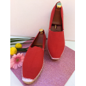 Espadrilles Basques couleur rouge