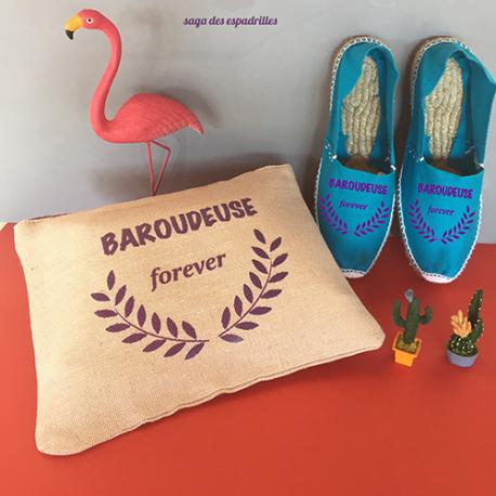 Véritables espadrilles basques personnalisées