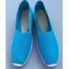 blue summer shoes