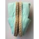 """Espadrilles bleu turquoise personnalisées """"horizon"""""""