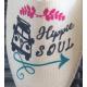 """Espadrilles basques 100% artisanales, cousues main, fabriquées en france et personnalisées """"hippie soul"""""""